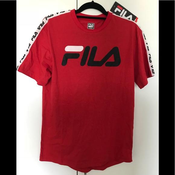 original fila t shirt \u003e Clearance shop